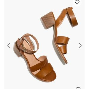 Like new MADEWELL NWOT Kate Leather Sandal 11M!!
